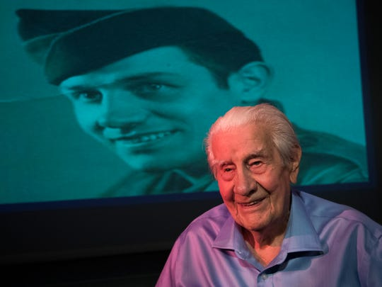 Frank Golon, 98, of Fort Myers, served in World War
