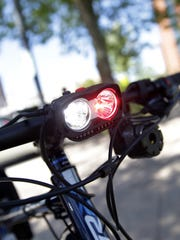 Neenah's new police bikes are equipped with flashing