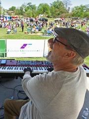 Chris McCaa plays at Crawfest 2017.