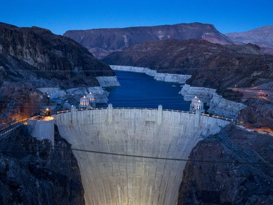 HOOVER DAM: When engineers dammed the Colorado River,
