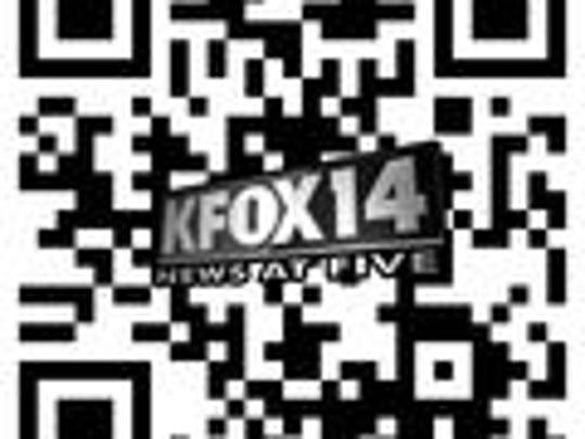 KFOX14 News at Five QR Code