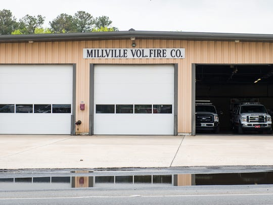 The Millville Fire Department on Atlantic Avenue in