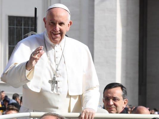 EPA VATICAN POPE FRANCIS REL BELIEF (FAITH) VAT VA