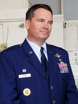 Col. David L. Owens, head of Dyess' 317th Airlift Wing.