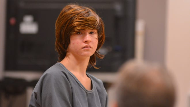 Morgan McNeil appears in court in Viera on Friday, Sept. 25, 2015.