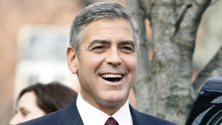 Listen to George Clooney sing 'Hollaback Girl'