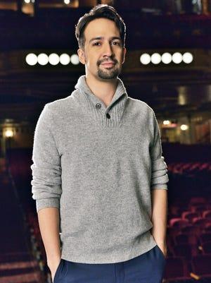 Lin-Manuel Miranda at the PBS premiere of 'Hamilton's America' in New York Oct. 17.