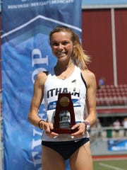 Taryn Cordani won two national championships at the 2017 NCAA Division III Outdoor Track and Field Championships.