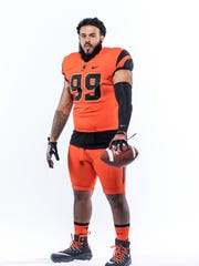 Defensive lineman Jeromy Reichner has two years of college experience.