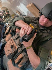 A SWAT scenario will show firefighter/paramedic members