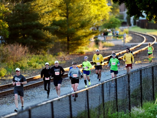 Close quarters means runners need to follow a few etiquette