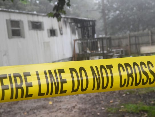 A 22-year old man died in a fire on Berry Lane in Homeland