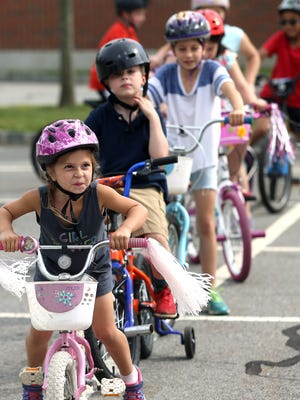 During the bicycle rodeo, children will learn to operate their bikes safely and obey traffic laws.