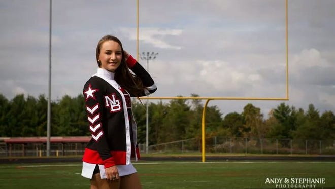 North Buncombe senior Jocelynn Wilde will cheer in college for Western Carolina University.
