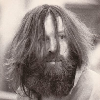 Thompson appeared disheveled at a court appearance in 1988.