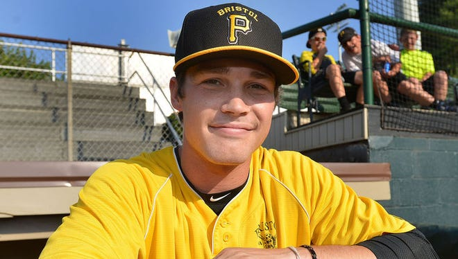 Erwin graduate Garrett Brown is a minor league baseball player for Bristol (Va.).