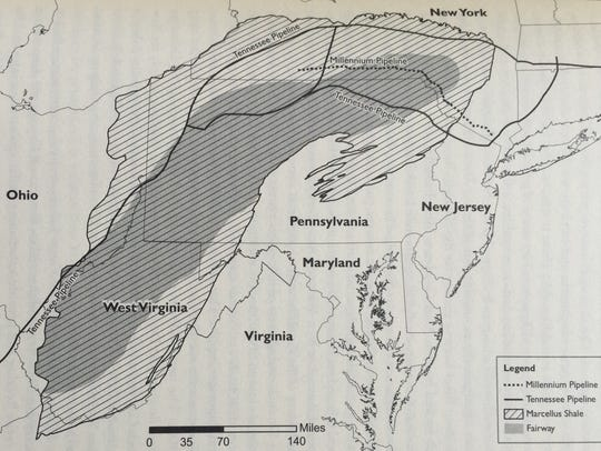 The Marcellus Shale, the largest natural gas reserve