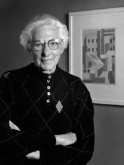 Louise Noun, a Des Moines feminist.