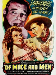 "The 1939 ""Of Mice and Men"" movie was actor Lon Chaney Jr.'s first major role."