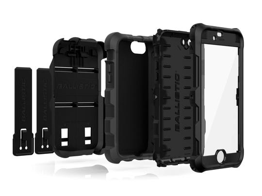 Ballistic Case Co.'s protective case for the iPhone 6 is designed to keep your device protected in any element while giving you access to all the smartphones functions. (TNS)