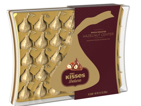 Hershey's Kisses Deluxe will are being sold in the