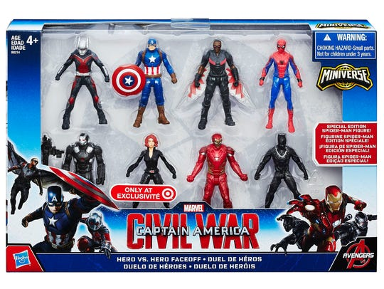 A limited-edition Spider-Man figure is included alongside
