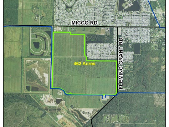 This is site of Florida Power & Light Co.'s planned
