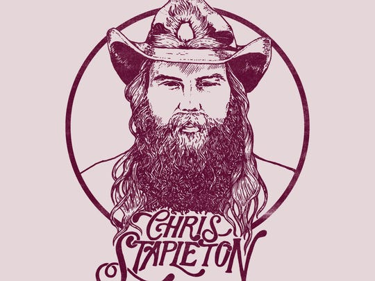 The cover of Chris Stapleton's latest album, 'From A Room: Volume 1.'