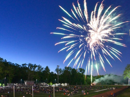 The sky fills with the sights and sounds of Cedar Grove's