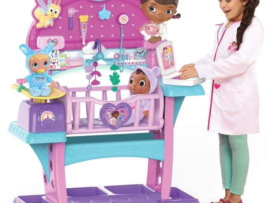 These 45 toys and products have earned the NAPPA seal of approval in 2017. Pictured is Disney Junior Doc McStuffins All-in-One Nursery.