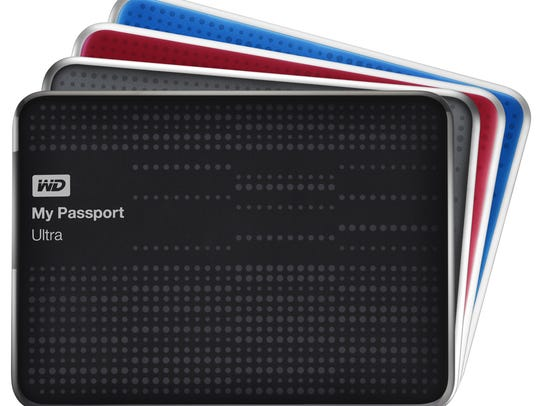 """If a friend asks, """"Where's my passport?"""" it doesn't necessarily mean he's planning a getaway. He might just want to store data on a drive. That's where Western Digital's My Passport Ultra comes in handy."""