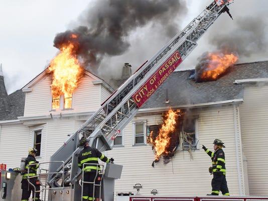 001-4th Alarm Fire in Passaic