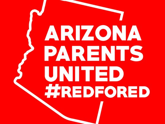 Scottsdale resident David Bays created logos and graphics for Arizona Educators United.