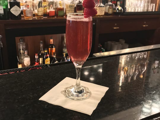 The Markle Sparkle is a $15 citrus vodka, apple liqueur and Champagne cocktail being served in May at the Hotel du Pont in honor of the upcoming Royal Wedding.