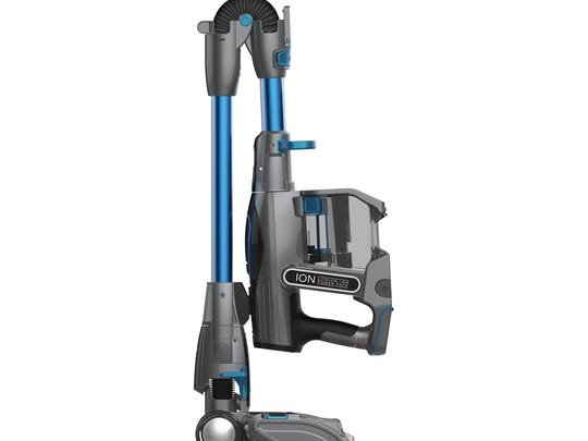 The Shark IONFlex 2X DuoClean Cordless Ultra-Light Vacuum transforms into a hand vacuum to increase cleaning versatility. (OXO)