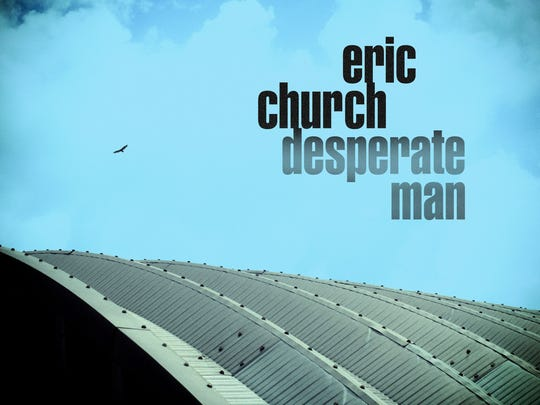 "Eric Church's sixth studio album, ""Desperate Man,"""
