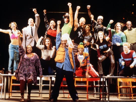 "The original cast of ""Rent"" in 1996."