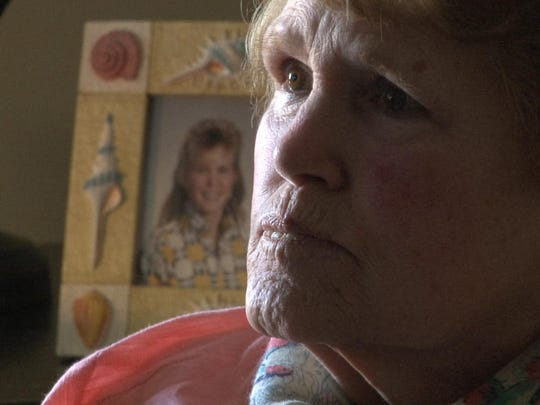 Barbara Renee Harrison's mother, Marianne, is shown during an interview in her Berkeley home. Barbara's killer, Shawn Milne, is set to be released from prison after serving a 30-year term.