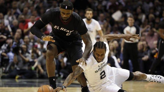 2014 Nba Finals Preview San Antonio Spurs Vs Miami Heat