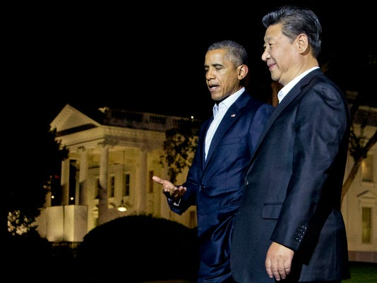AP CHINA WATCHING XI'S TRIP A FILE USA DC