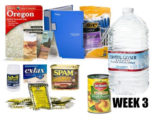 Creating a disaster preparedness kit