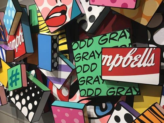 MSU's Brick City Gallery presents Todd Gray: Pop Geometry