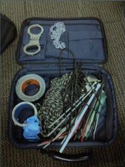 Balyo's bondage kit found in Kent County storage unit