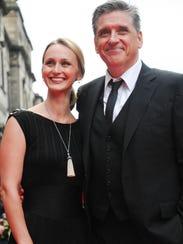 Craig Ferguson and his wife Megan Wallace Cunningham