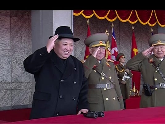 AP APTOPIX NORTH KOREA MILITARY PARADE I PRK