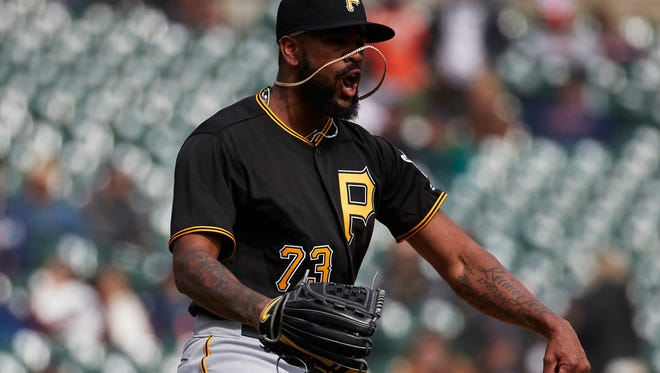 Rivero had 21 saves for the Pirates in 2017.