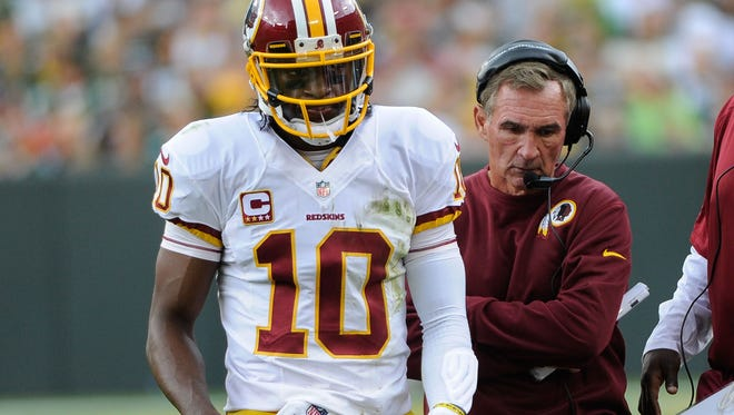 The relationship between Redskins QB Robert Griffin III and coach Mike Shanahan has been a constant source of speculation.