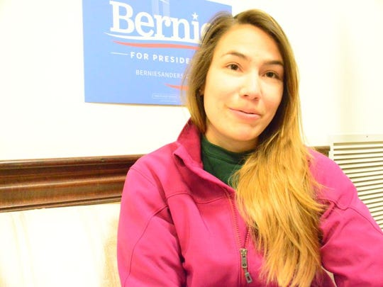 Bernie Sanders presidential campaign intern Ariana Cano hopes to persuade Hispanic voters to support the Vermont senator.