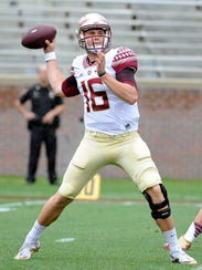 Florida State quarterback J.J. Cosentino may need to