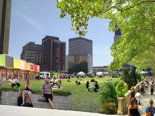 Green space Parcel 5